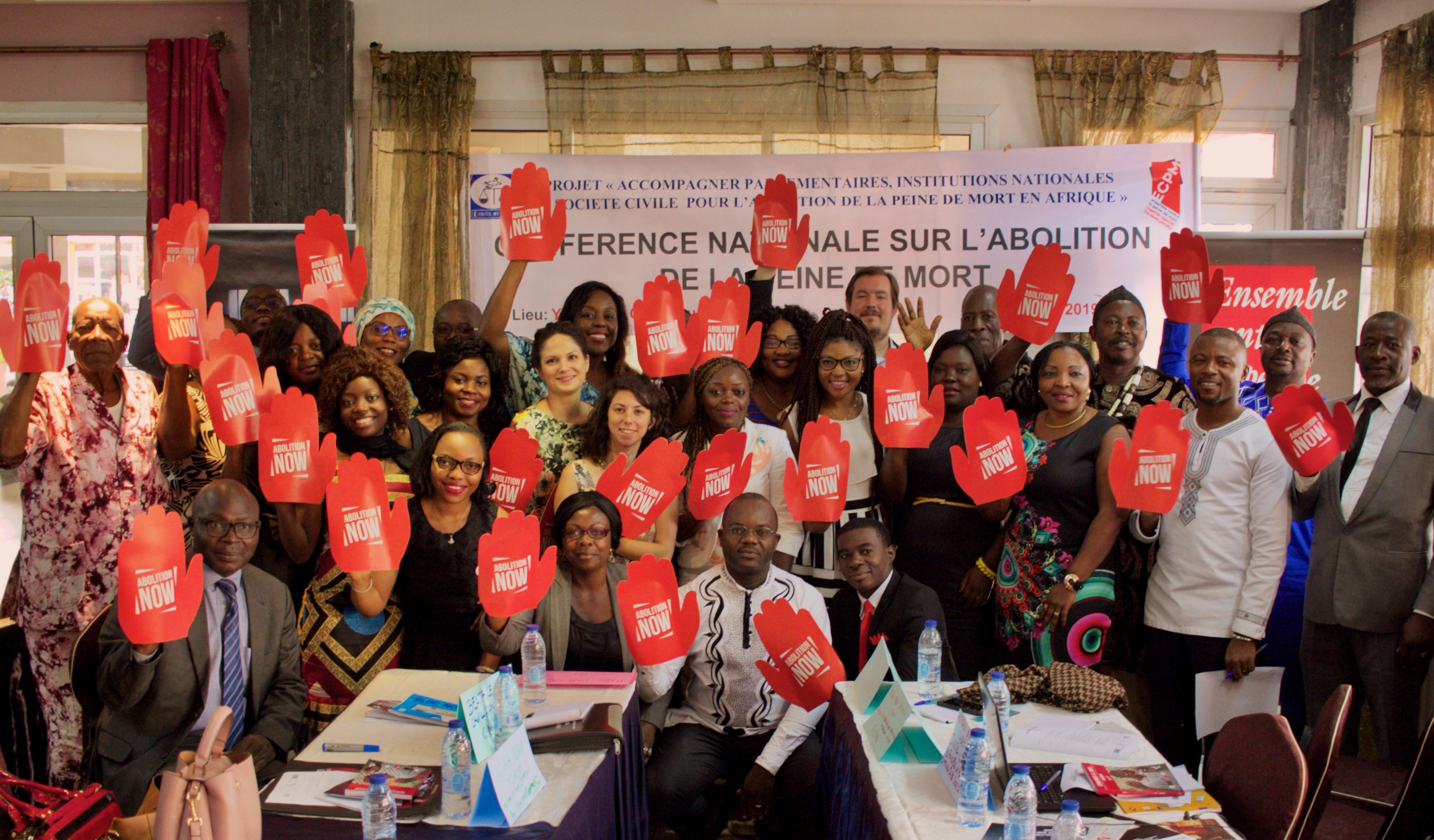 National conference for the release of the fact-finding mission, on 22 June 2019 in Yaoundé