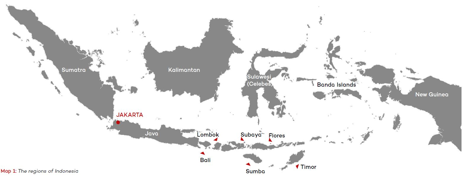 map indonesia